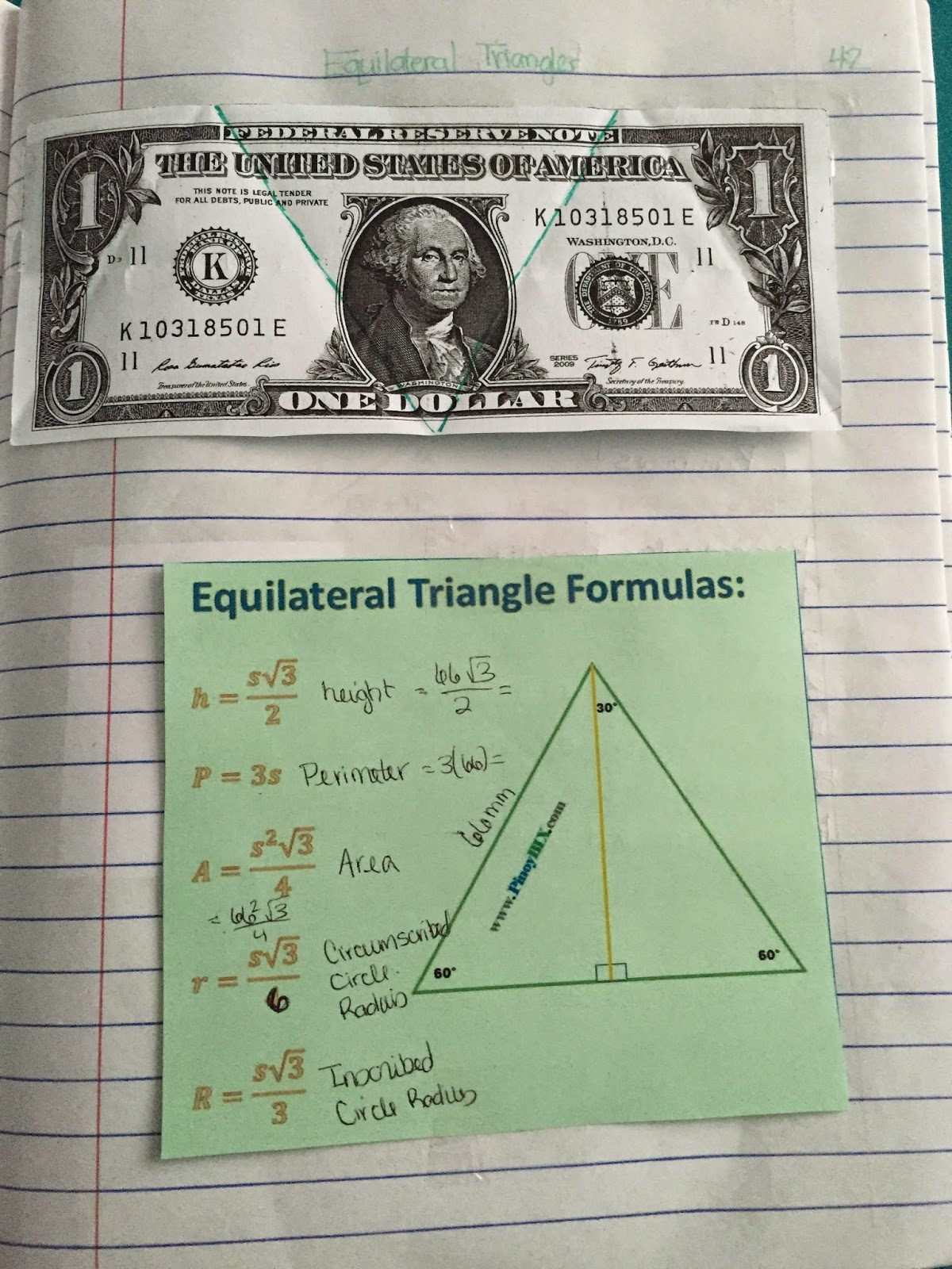 worksheet Medians And Altitudes Of Triangles Worksheet misscalcul8 geometry unit 4 triangles interactive notebook a handout that describes two different ways to draw an equilateral triangle i make students try both and then they pick one put in