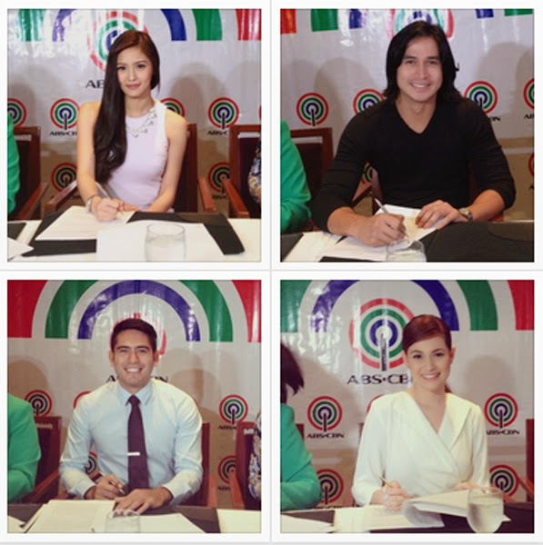 Kim Chiu, Gerald Anderson, Piolo Pascual, and Bea Alonzo sign new contract with ABS-CBN
