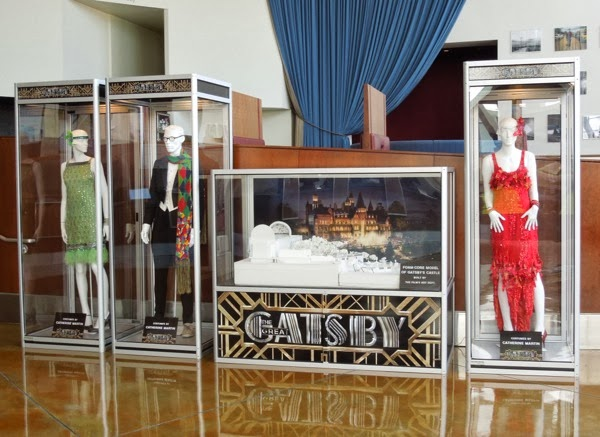 Great Gatsby movie costume exhibit