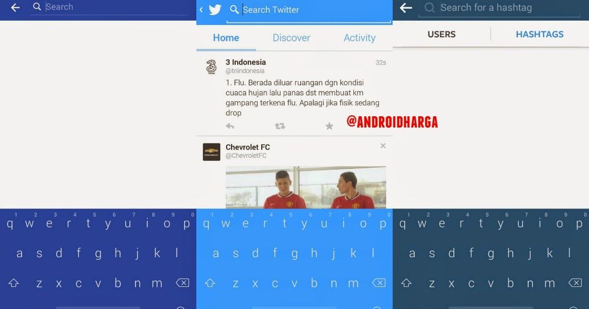 Cara Mengubah Warna Keyboard ASUS Zenfone 6 Sesuai Warna Status Bar
