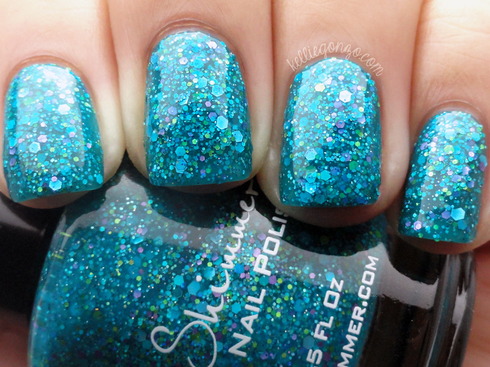 KBShimmer She Twerks Out (with top coat)