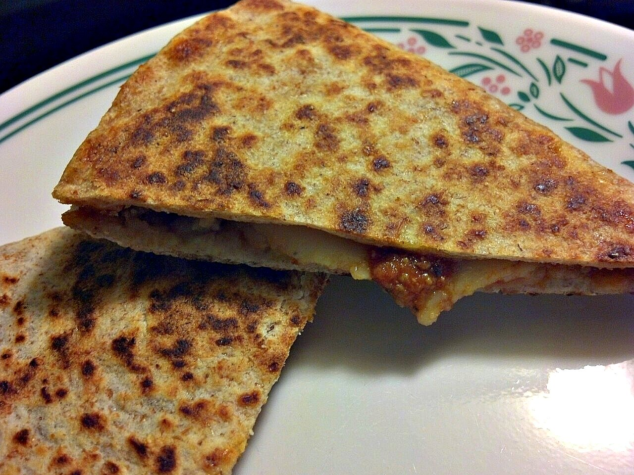 of a Foodie Mama: Pizza Quesadillas (or is it Quesadilla Pizza