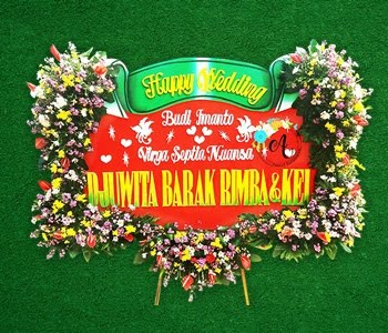 BUNGA PAPAN WEDDING 02