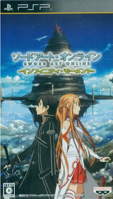 Sword Art Online Infinity Moment Psp Game Cover Photo