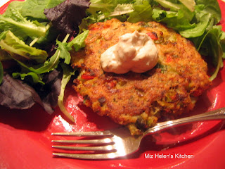 Baked Tilapia Cakes from Miz Helen's Country Kitchen