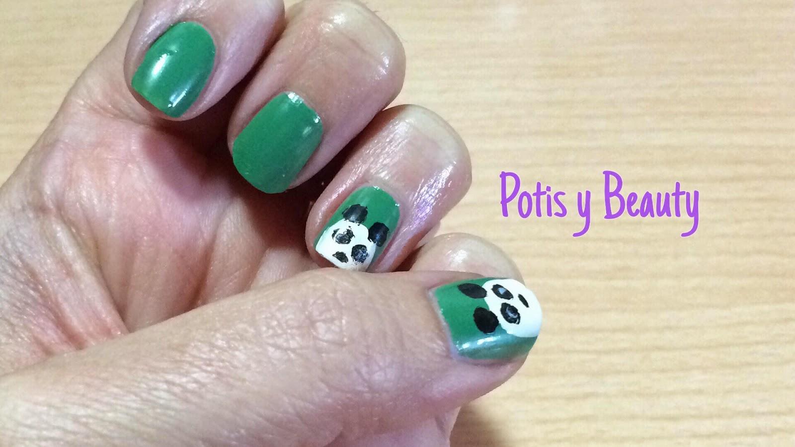 Uñas oso panda