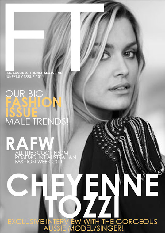Cheyenne Tozzi on the cover of FT