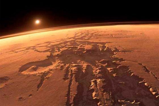 Marte pudo haber albergado vida microbiana.