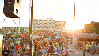 rooftop concert series provo crowd