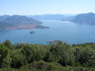 Maggiore Gölü'ndeki Üç Ada