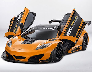 "McLaren ""Can-Am GT"" MP4-12C Track Car suicide doors"
