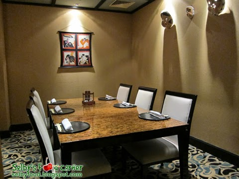 4 Tatami Rooms For Private Dining Occasions.