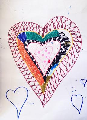 Collaborative Mandala Drawing with kids