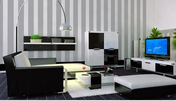 black and white living room designs ideas furniture and wallpaper
