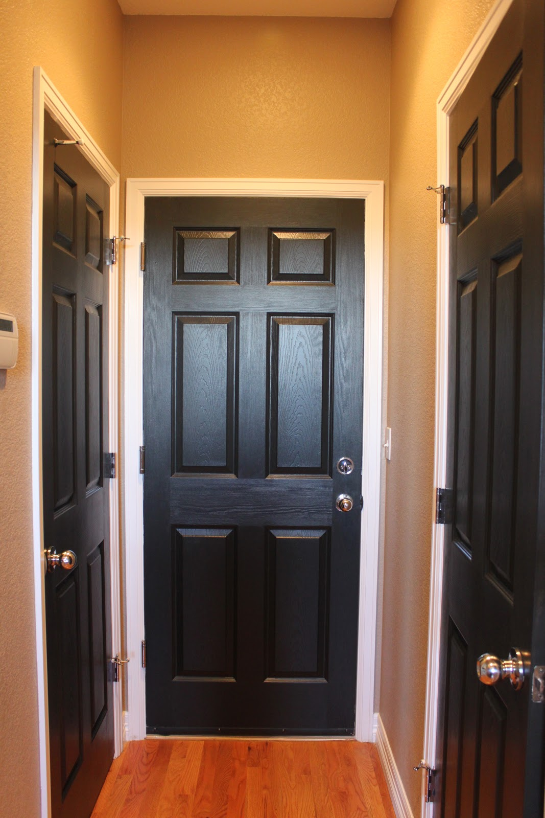 Painting Interior Doors Black : An unconventional june paint it black