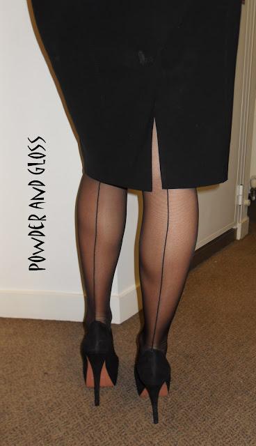 Ноги толстые в чулках фото
