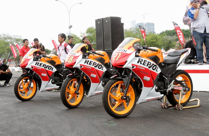 Motor Sport Terbaru All-New Honda CBR150R Harga Rp 28 Jutaan