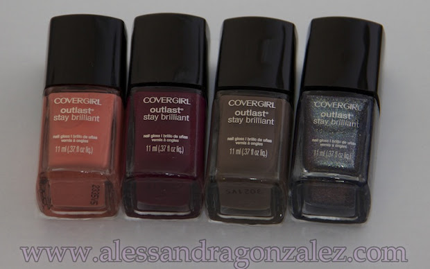 swatches of covergirl outlast stay