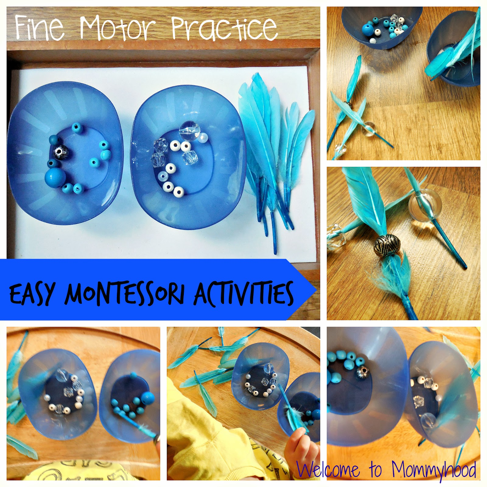 Fine motor activities for toddlers by Welcome to Mommyhood #finemotoractivitiesfortoddlers, #finemotoractivities, #montessori