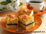 Jednoduchý mandľový koláč - recept