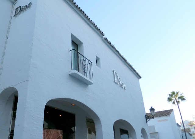 Marbella Spain Summer Holiday Puerto Banus Dior Shop