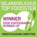 Selangorlicious Foodster Blogging Competition 2011 Finalist