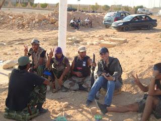 Radio Sawa correspondent Lamia Rezgui Bourogaa in Libya