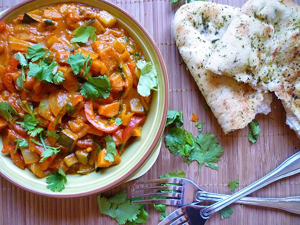 Butternut and Bell Pepper Curry Recipe
