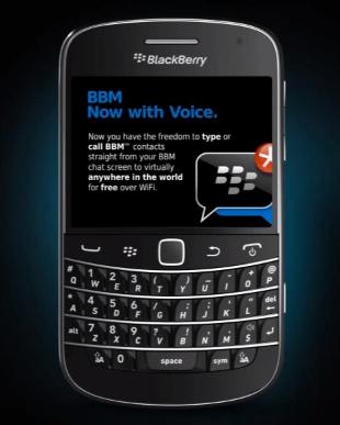 bbm voice call