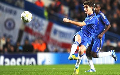 Belíssimo gol de Oscar na quarta rodada da champions liga, Chelsea vence Shakhtar