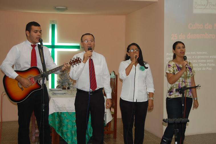 CULTO DE NATAL  25 DEZ 2012