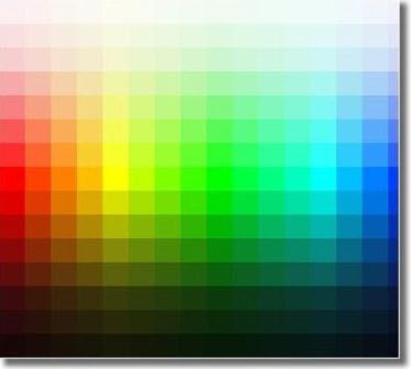 Html Colors Codes Chart For Web Developers By Geekupd  Geek Upd