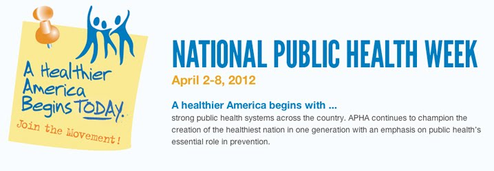 National Public Health Week 2012