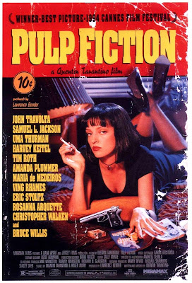 Cartel de la película Pulp fiction