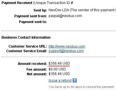 Neobux плащане 26.04.2012