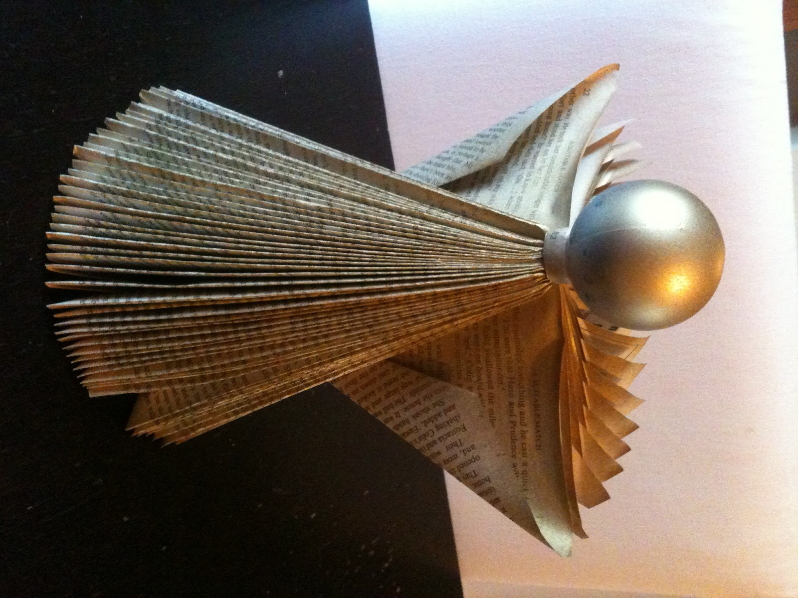 Five go blogging how to make angels and christmas trees for Craft angels to make