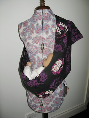 fabric baby sling instructions
