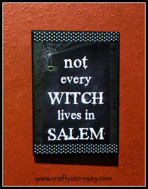 Halloween decorations, witch art, Halloween printables, Crafty In Crosby