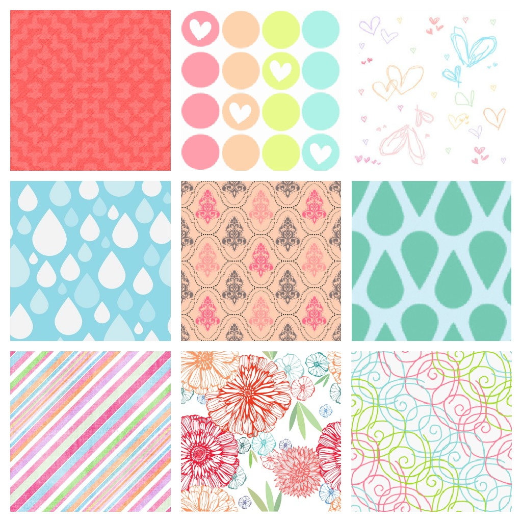 Creative mindly pattern o wallpaper gratis para decorar - Como decorar pared con fotos ...