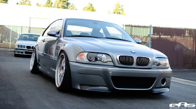 Another Custom Silver Gray BMW E46 M3
