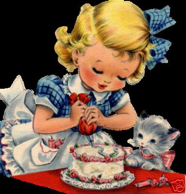 tarjeta cumpleaños vintage