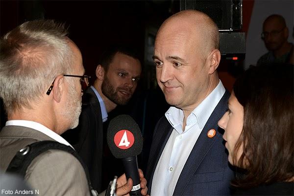 Fredrik Reinfeldt, Nya Moderaterna, statsminister Reinfeldts, Sista besök i Göteborg, intervju, blir intervjuad