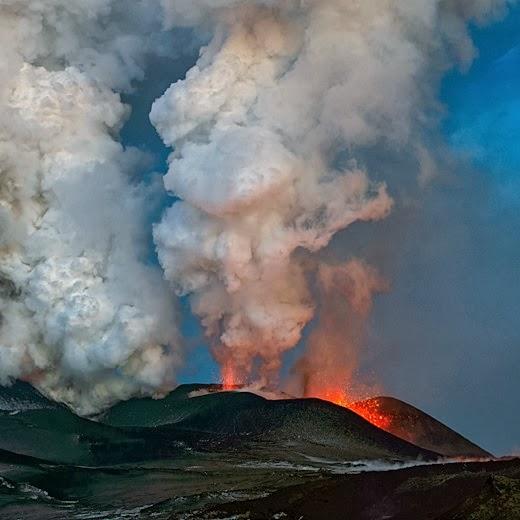Volcanoes of Kamchatka in Russia