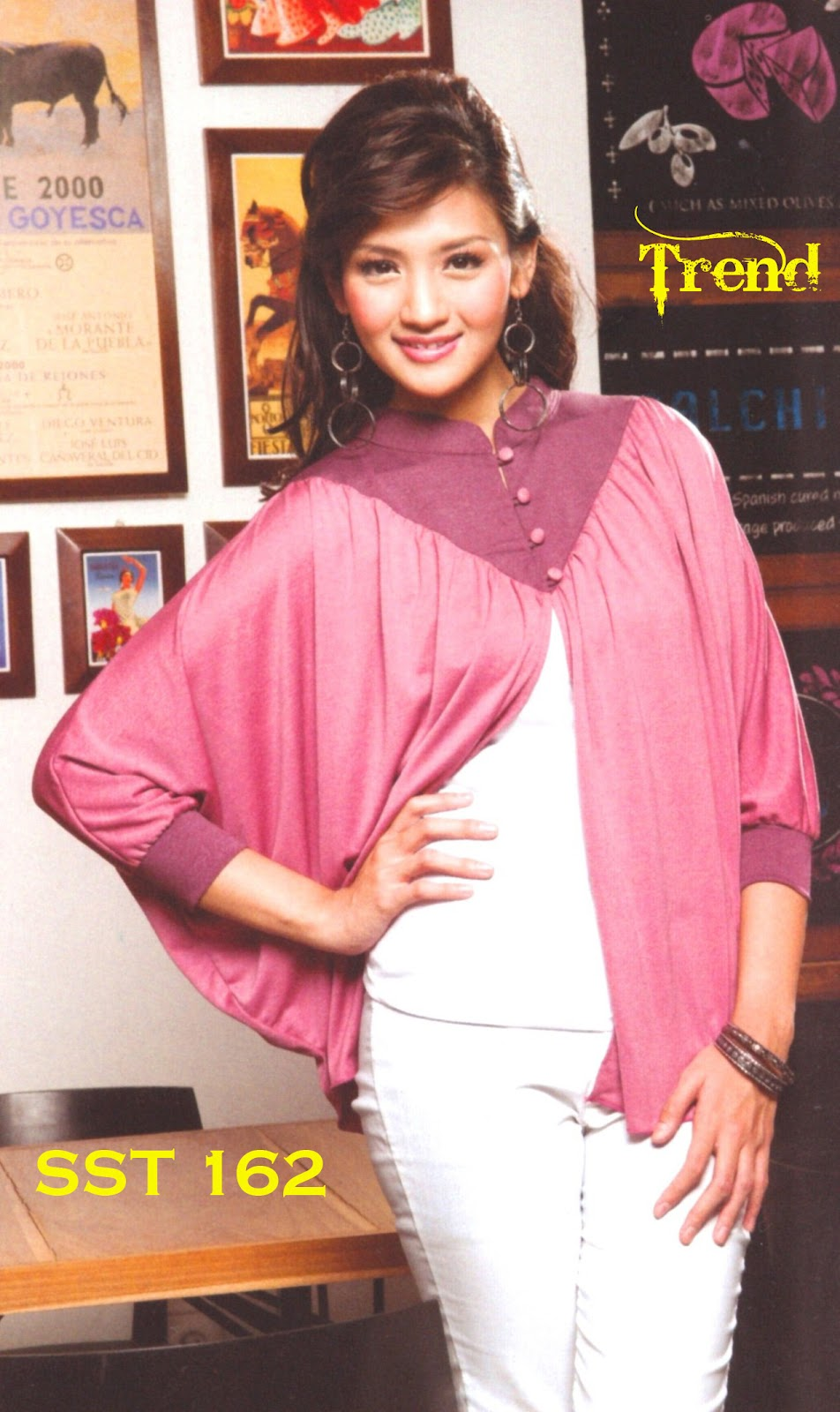 Fashion Baju 99 Baju Blus Wanita Sst 162 Butik Toko