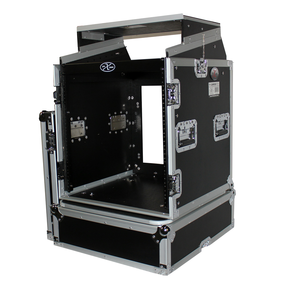 Pro X Cases Prox T 12mrlt 12 Space Amp 10 Slanted Top 12u