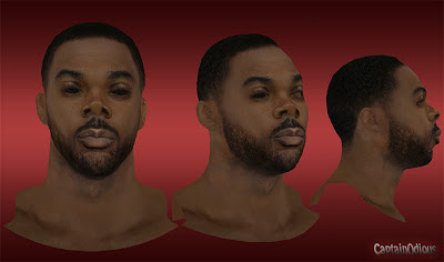 NBA 2K13 Chris Wilcox Cyberface Mod