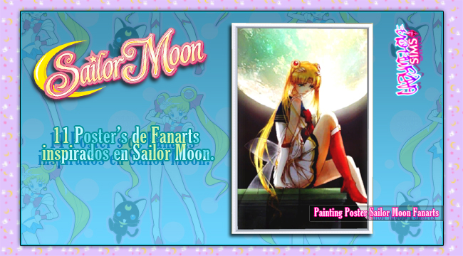 Painting-Poster-Sailor-Moon-Fanarts-By.-