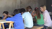 Apoyo escolar en el barrio Hipólito Yrigoyen por La Cámpora de Mercedes