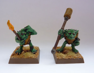 Gretchin crew from the Hop Splat Field Gun