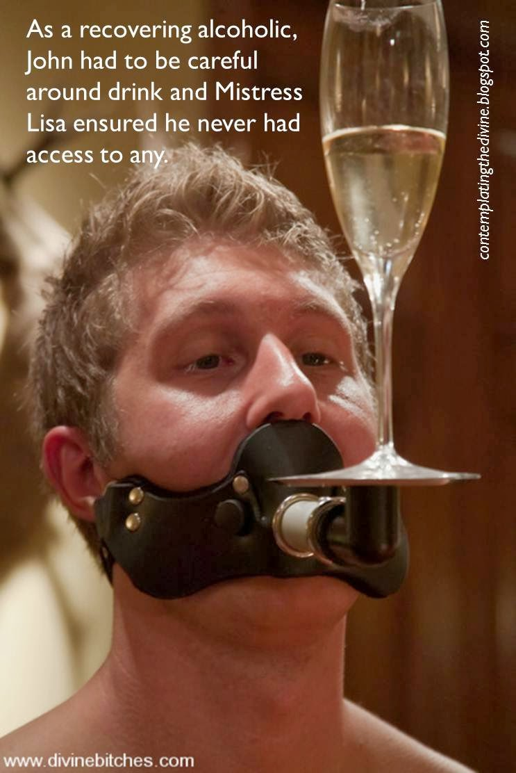 Gagged slave addiction
